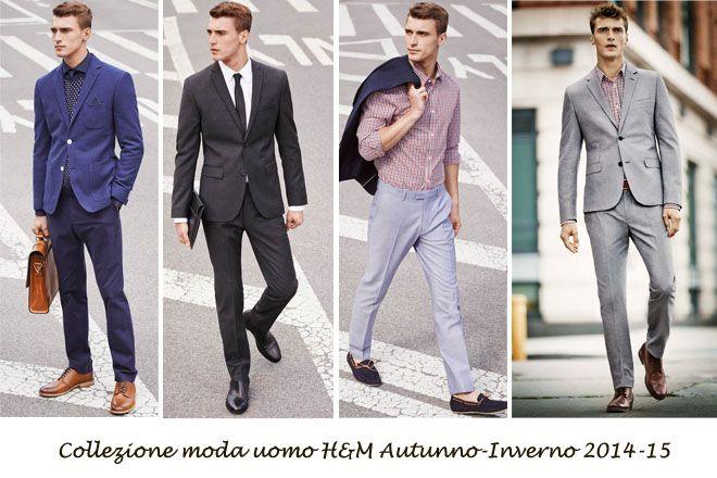 Vestiti Eleganti Hm Uomo.Collezione Moda Uomo H M Autunno Inverno 2014 15 Moda Uomo