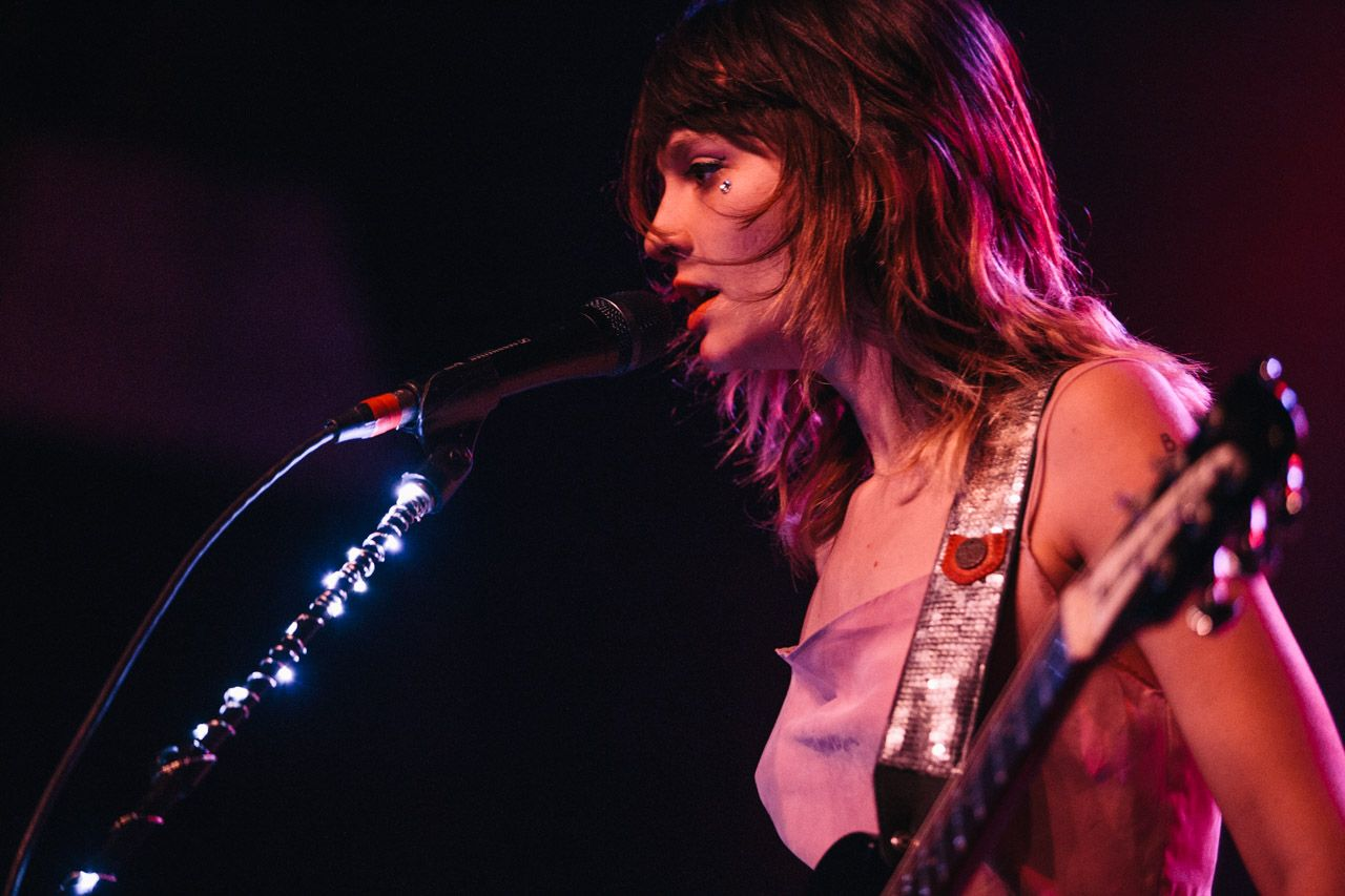 Clementine Creevy From Cherry Glazerr Rock The Rock World