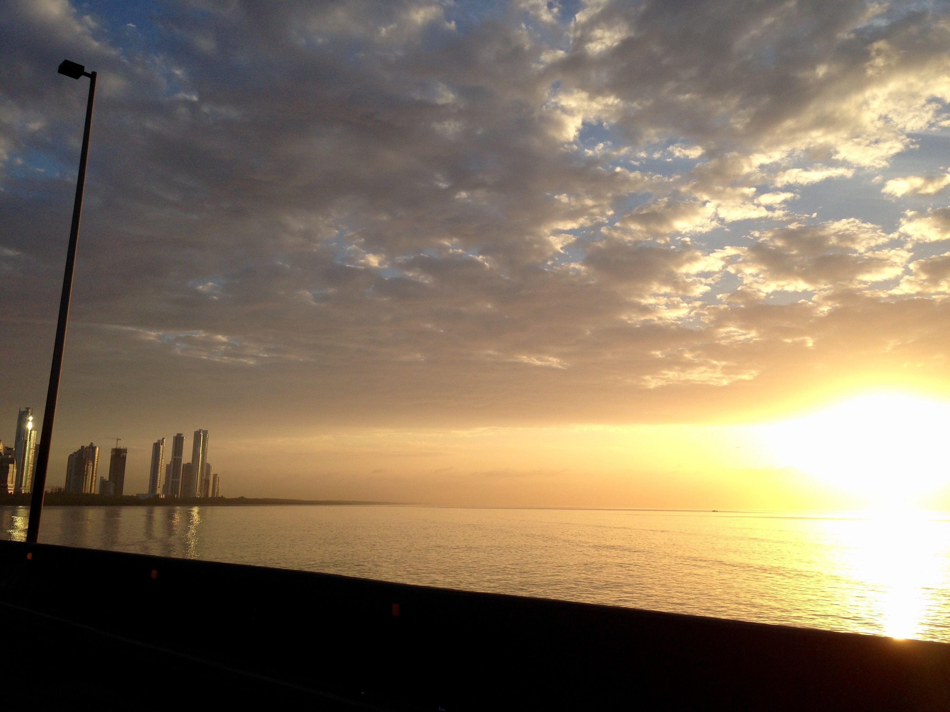 Panamá sunrise
