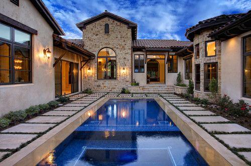 Modern Mediterranean Homes Design, Pictures, Remodel, Decor and