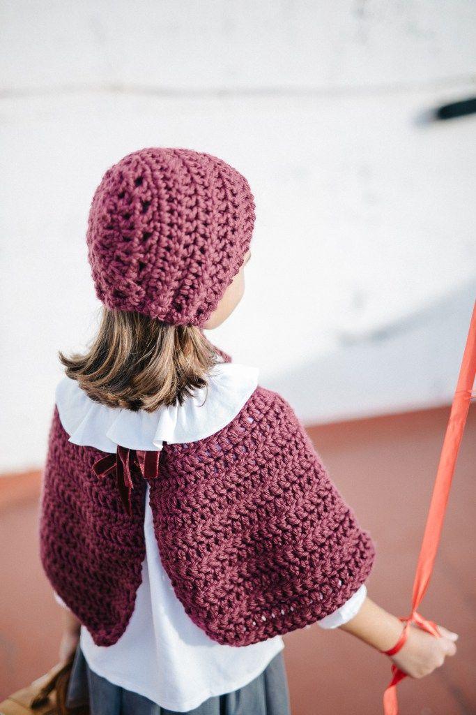 Mi obsesión por las capotas y un patrón muy fácil para hacer una ...