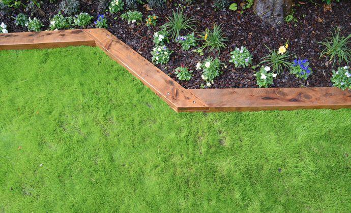 fabulous wooden garden border edging texas