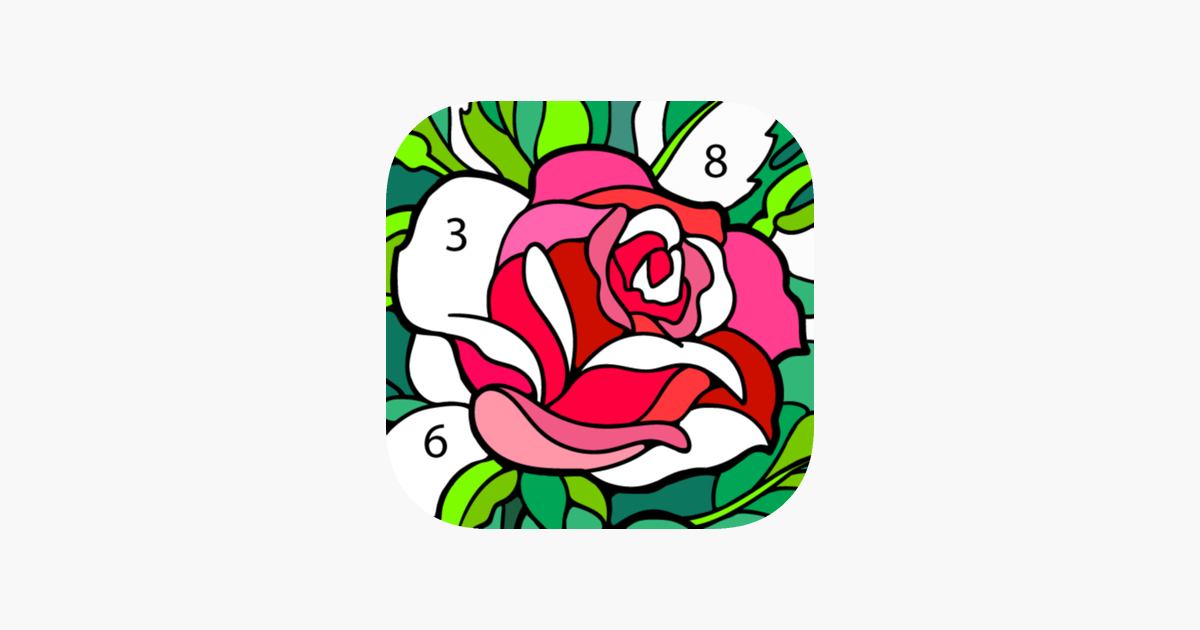 Color By Namber Poisk V Google Happy Colors Coloring Books Unique Coloring Pages