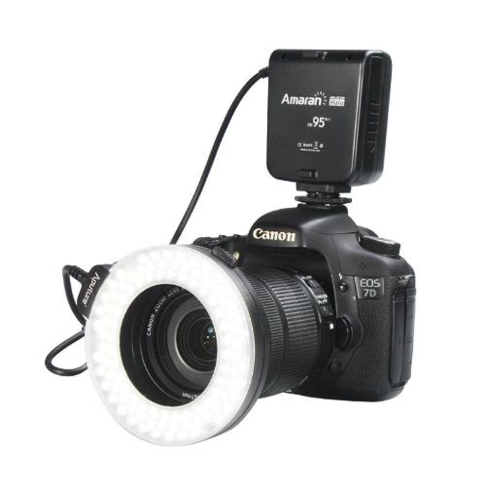Amazon.com : Aputure Amaran Halo AHL-HC100 CRI 95+ LED Macro Ring ...