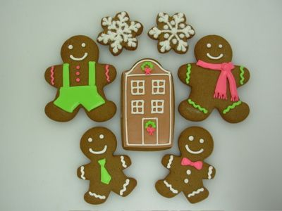 Gingerbread Cookies Decorating Ideas Gingerbread Cookies