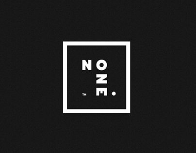 NOONE. Branding. Second Concept Version.
