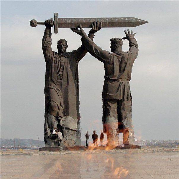 История Меча Победы | Памятники, Разное, Скульптура