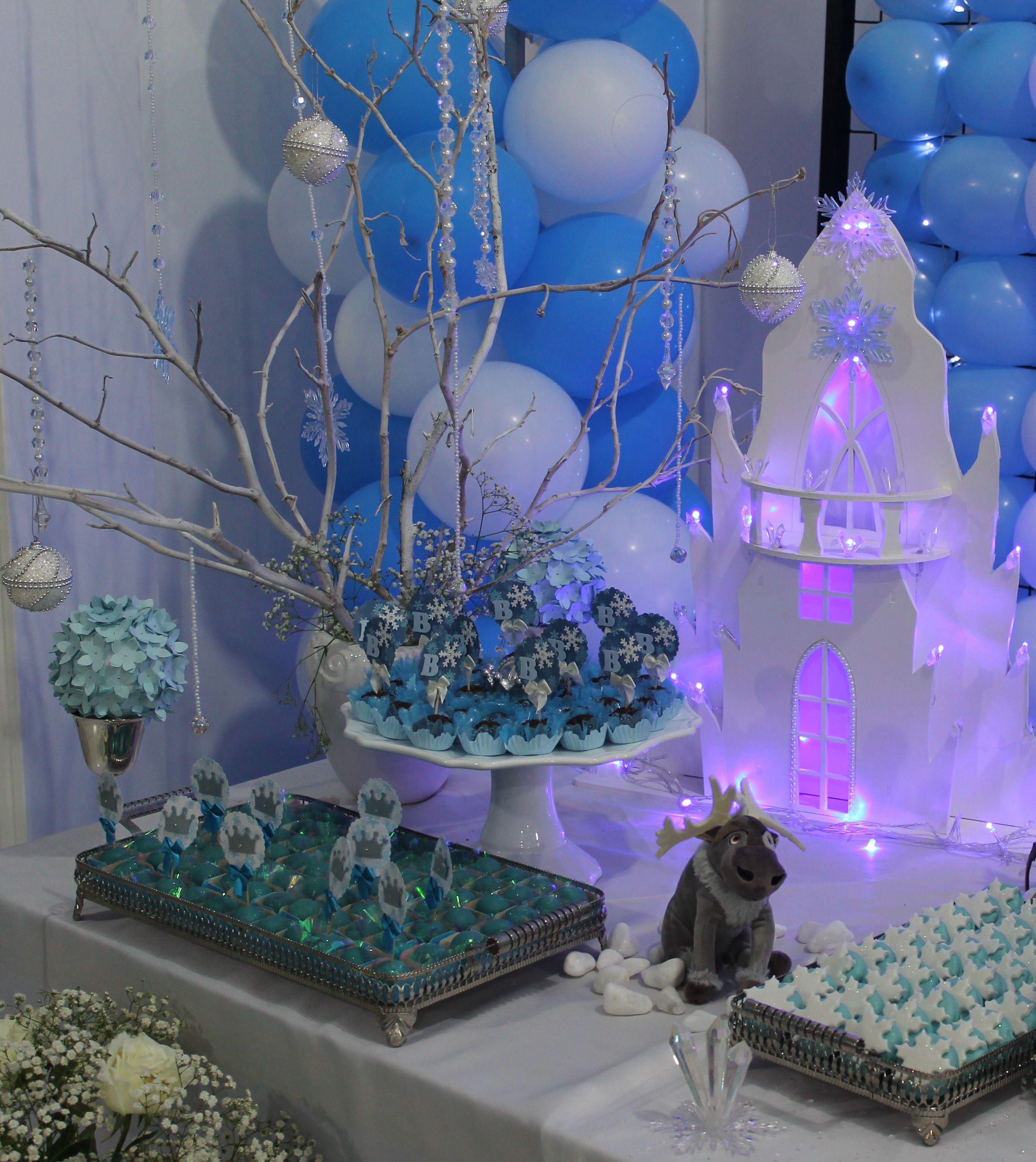 Minha festa frozen