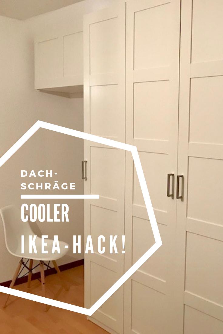 diy schr nke f r dachschr gen selbstgebaut ikea hacks. Black Bedroom Furniture Sets. Home Design Ideas