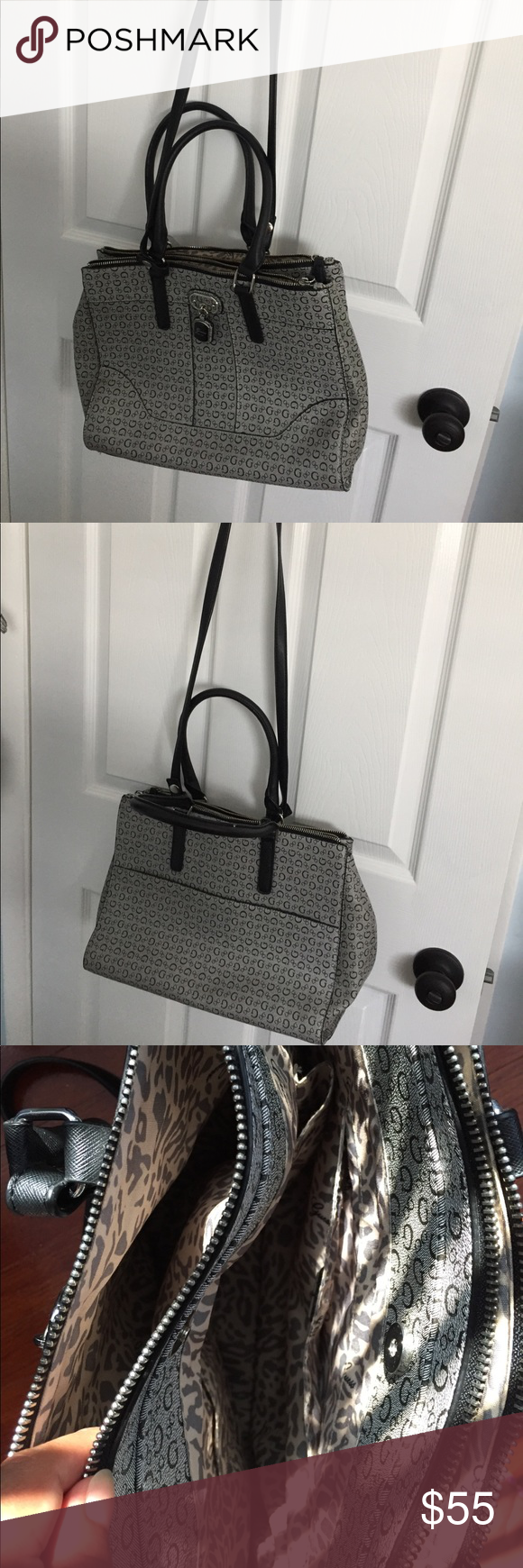 b0220b7fe4b ... Guess purse Super roomy guess logo purse..perfect condition...it has ...