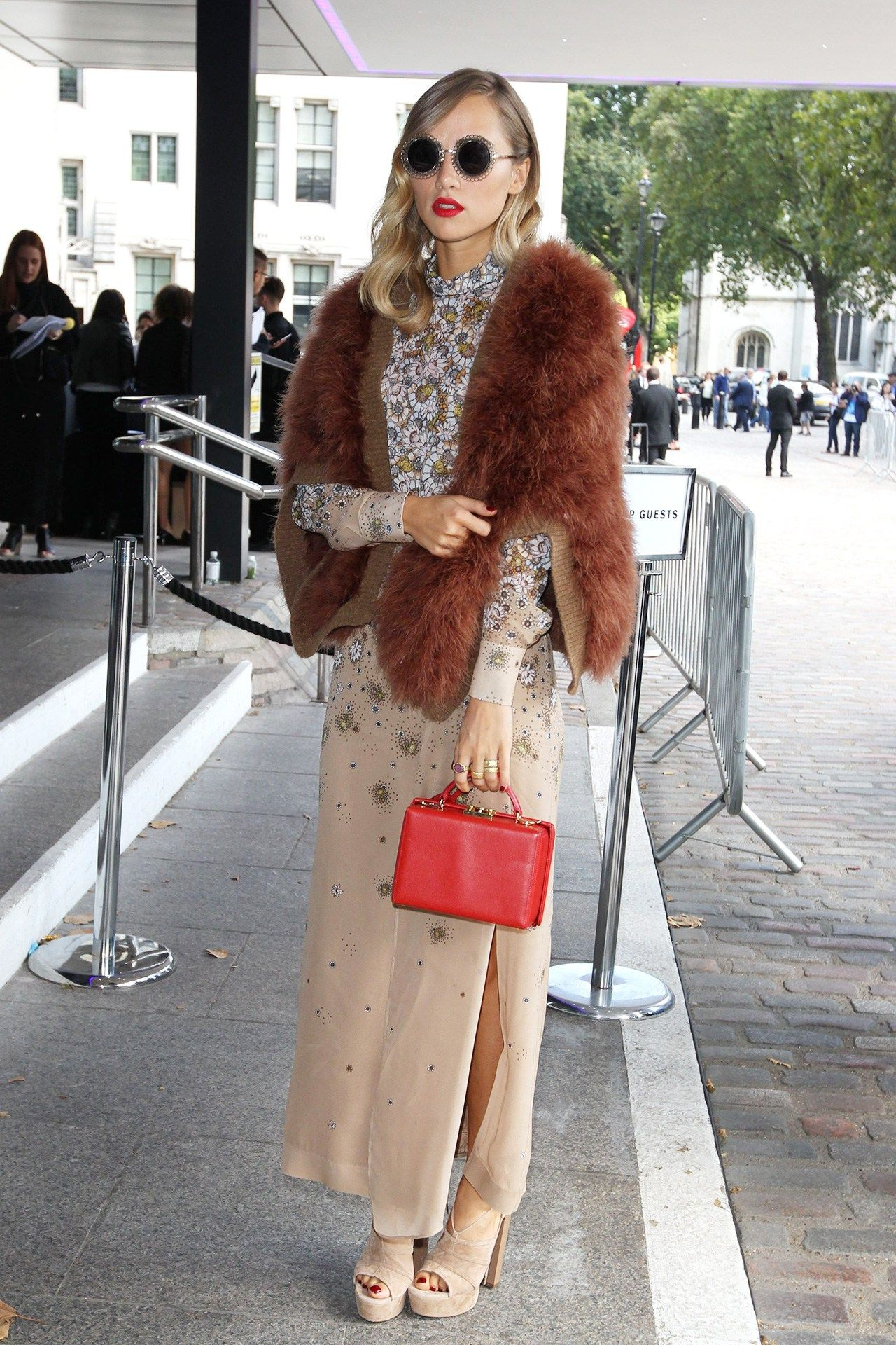 Suki Waterhouse Goes From Granny Chic to Majorly Glam images