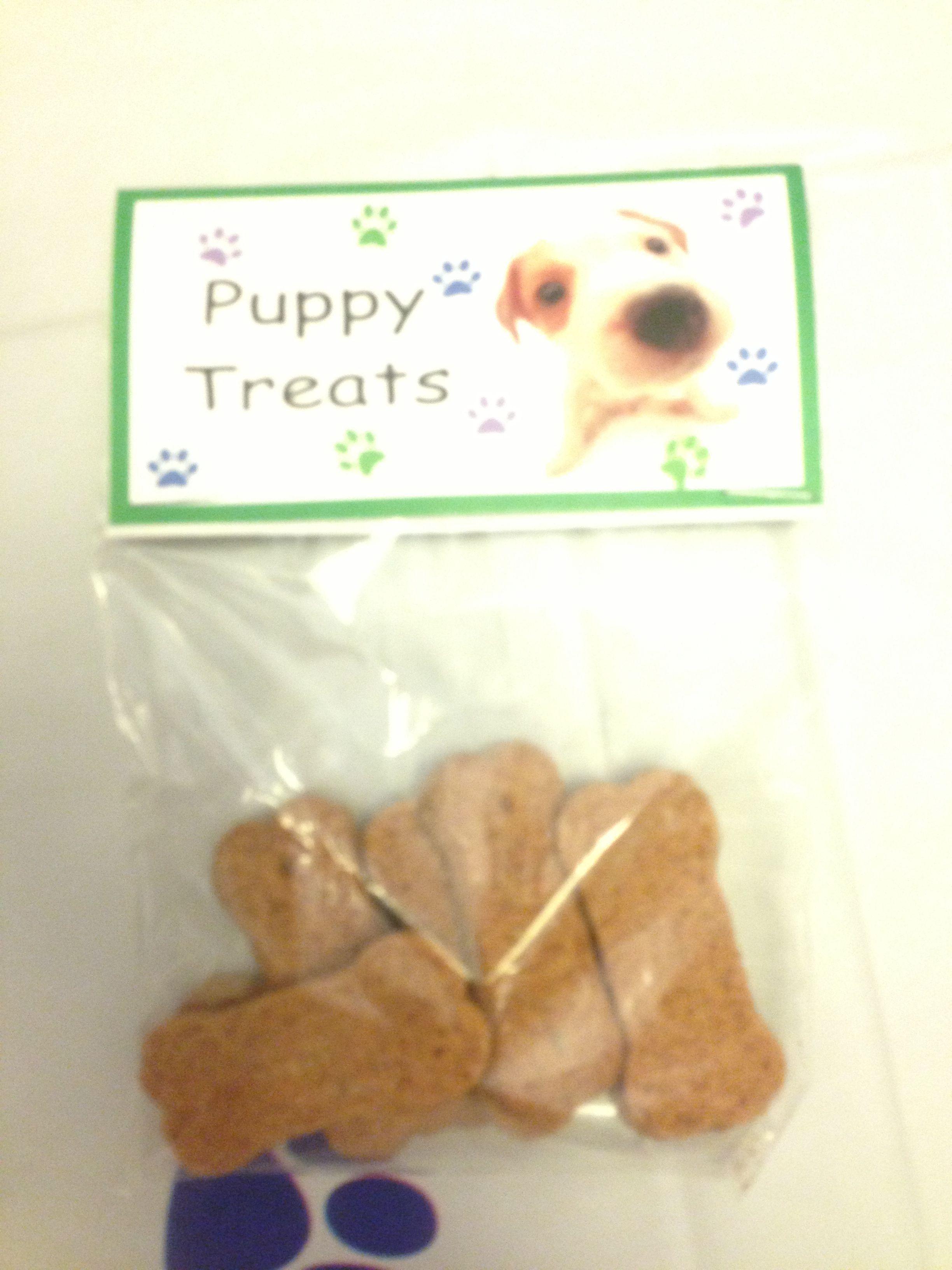 Are those  really Puppy Treats?