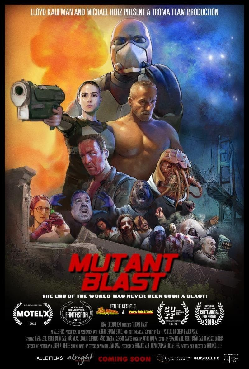 Mutant Blast Theatrical Trailer Blasts Off Online With Blasteriffic Theatrical Poster Full Movies The New Mutants Best Horror Movies