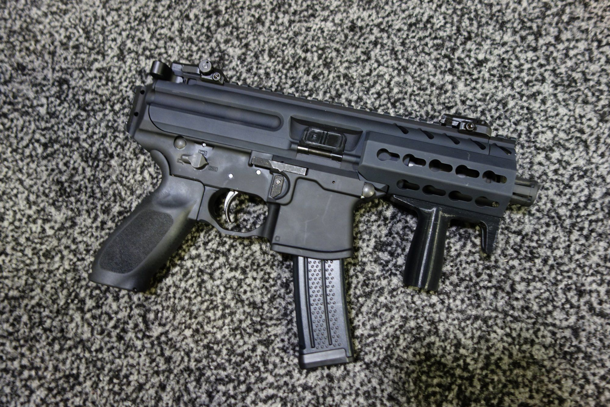 SIG SAUER MPX KeyMod Multi Cal Machine Pistol/Mini Submachine Gun ...