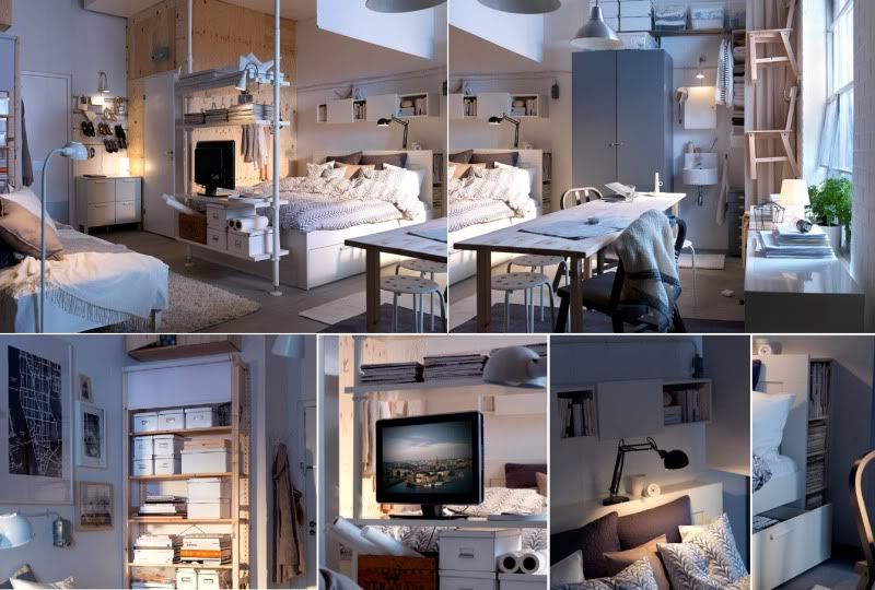 One Room Living Space No Problem Living Room And Bedroom In One