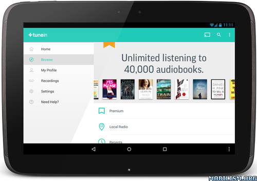 TuneIn Radio Pro – Live Radio v17 5Requirements: 4 0+Overview