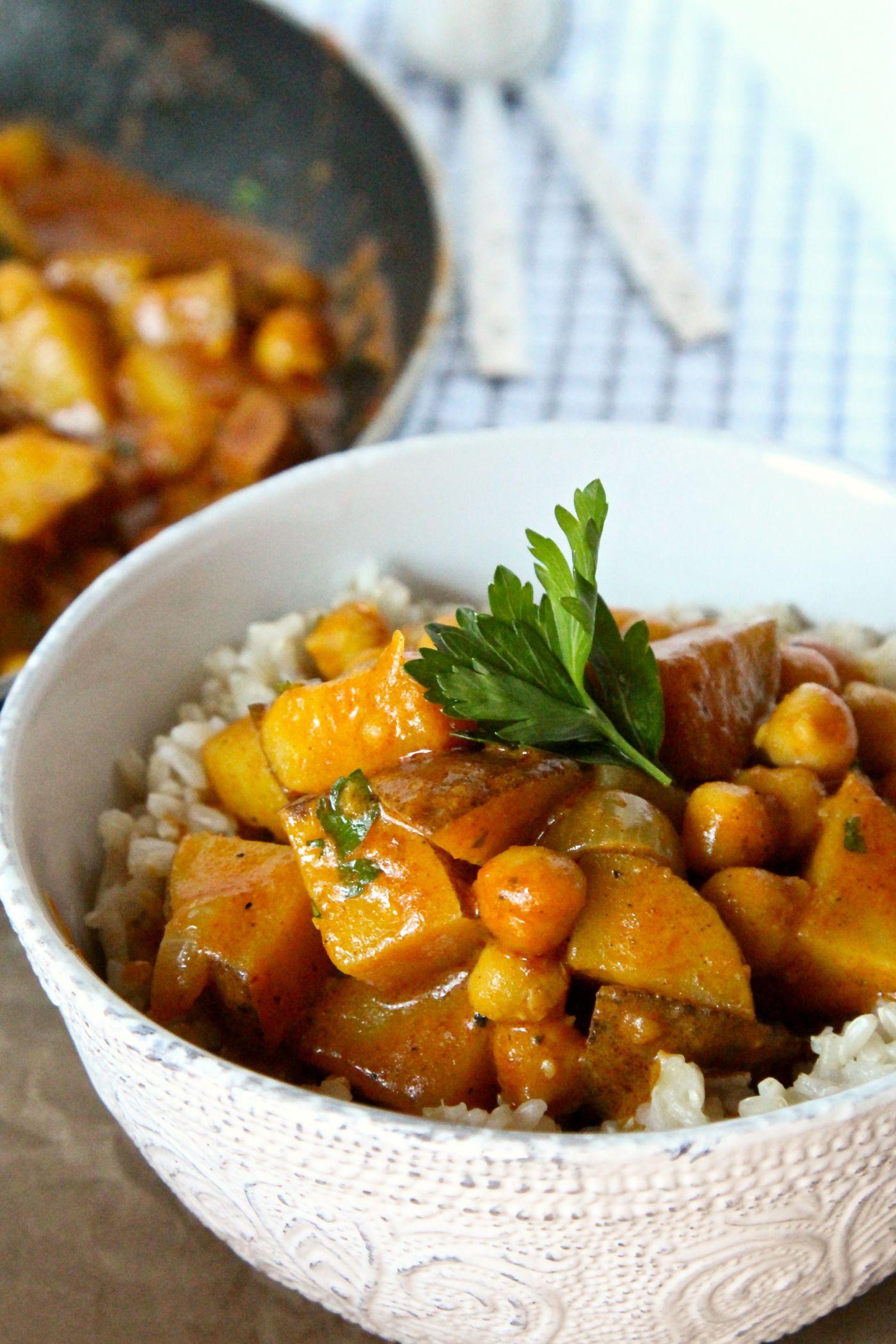 8 ingredient red curry recipe recipes vegan recipes