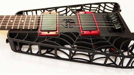 3D Printed guitars!