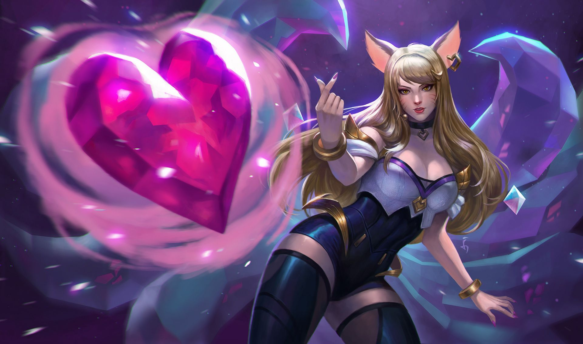 Hd Wallpapers Artworks For League Of Legends Lol League Of