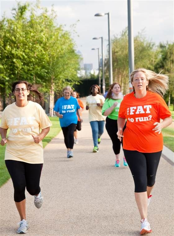 'Too Fat To Run'? Woman's blog battles fat-shaming, inspires runners