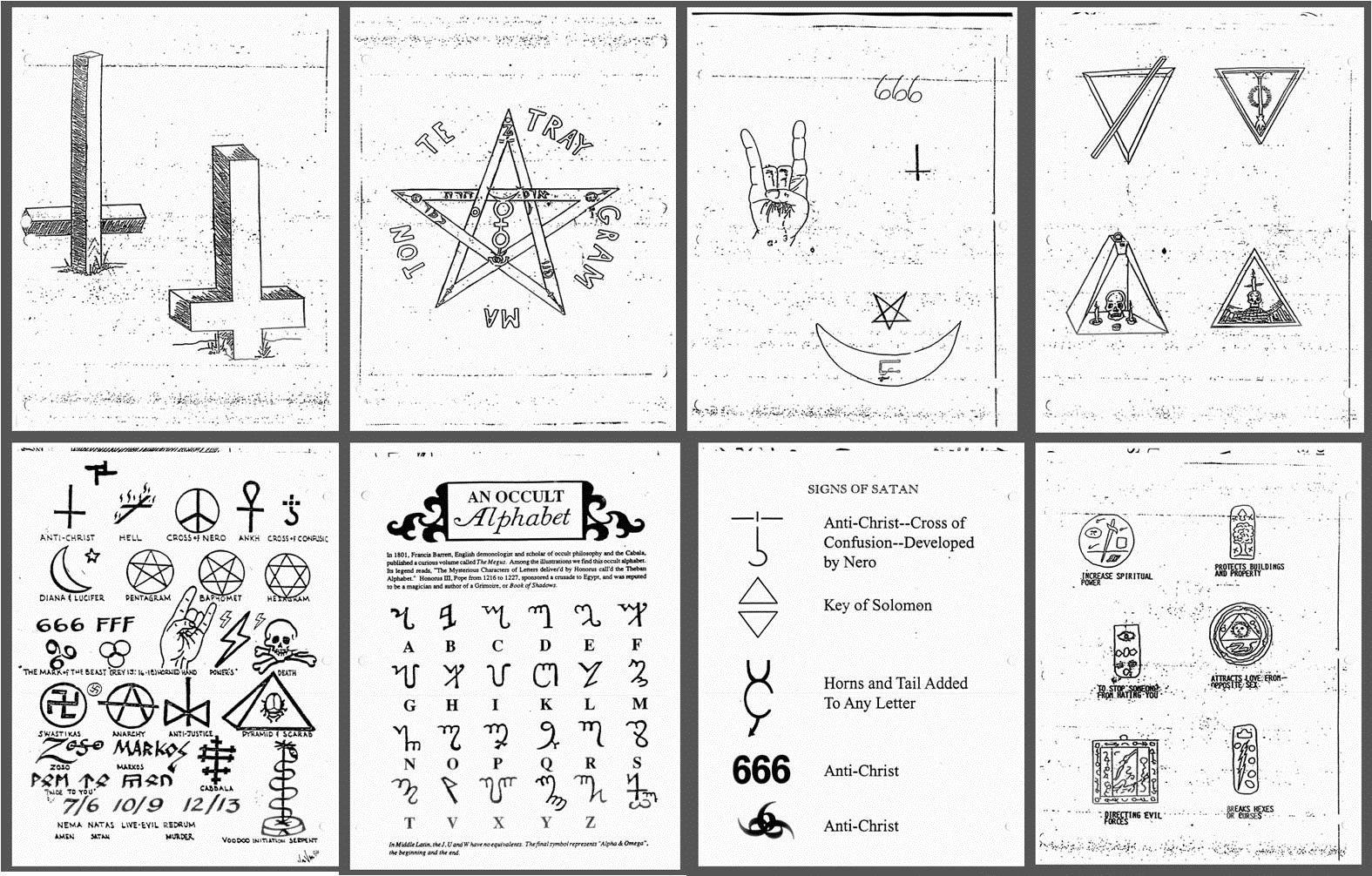 Satanic symbols satanic symbols and signs drawn mimeotype satanic symbols satanic symbols and signs drawn mimeotype symbols biocorpaavc