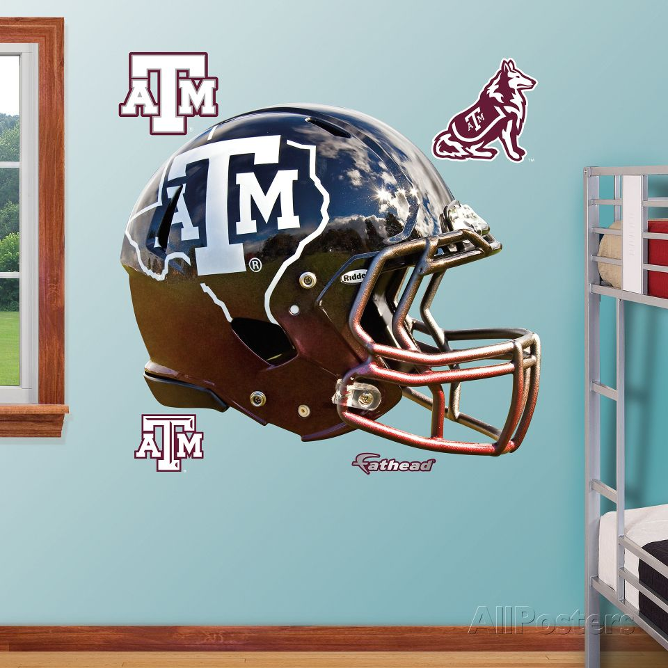 Charming Texas Au0026M Aggies State Helmet Wall Decal Sticker Nice Ideas