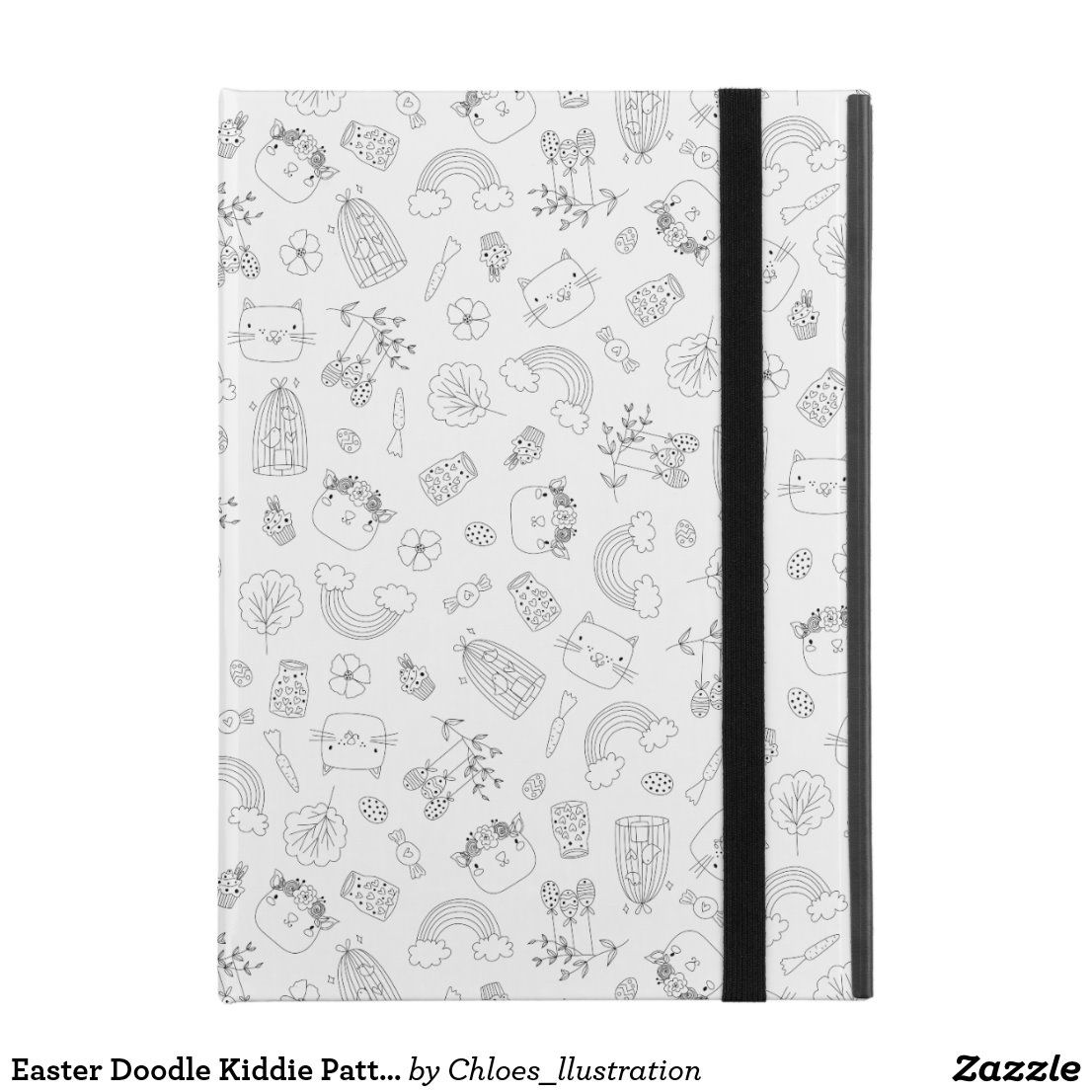 "Easter Doodle Kiddie Pattern iPad Pro 9.7"" Case 