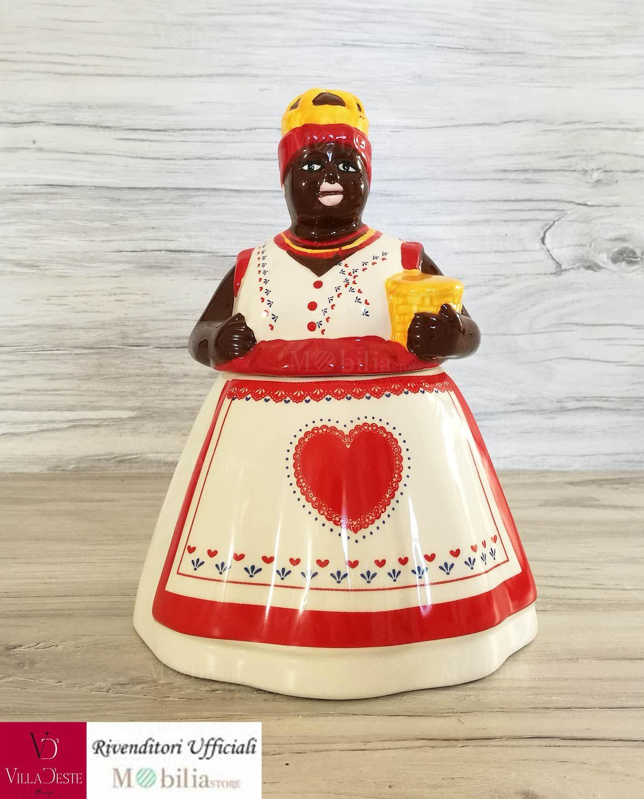 Biscottiera Mamy Villa d\'Este, ideale come accessorio etnico per la ...