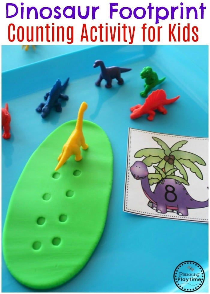 Dinosaur Theme - Preschool - Planning Playtime #dinosaur