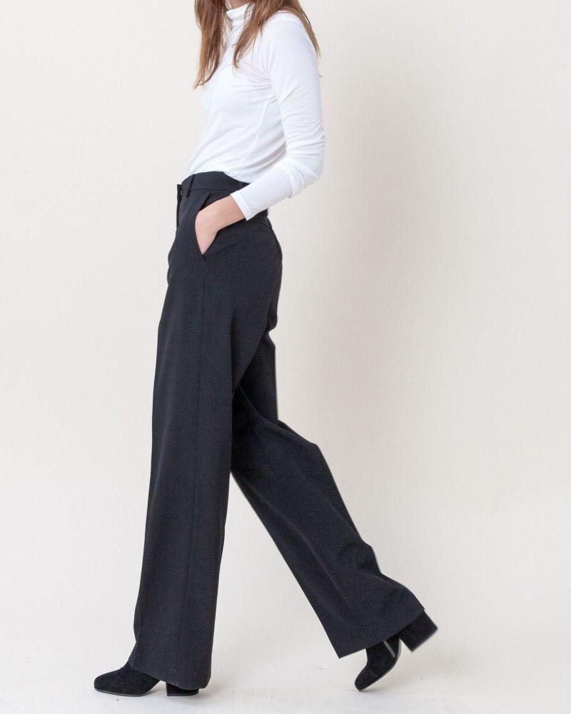 Pulley Pants in Black