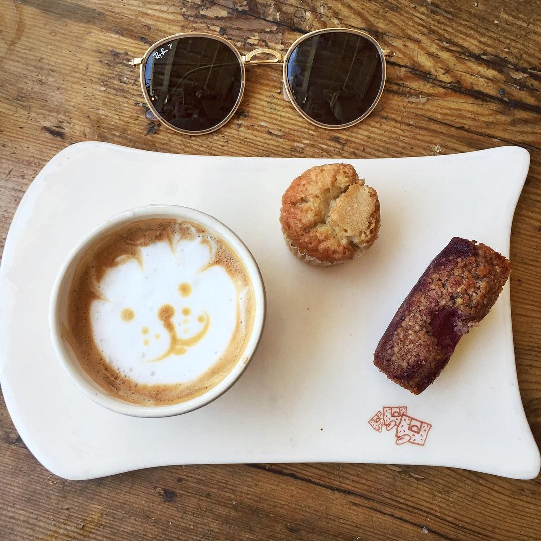 Coffee again at my favorite place  #queenofjetlagstravels #LA