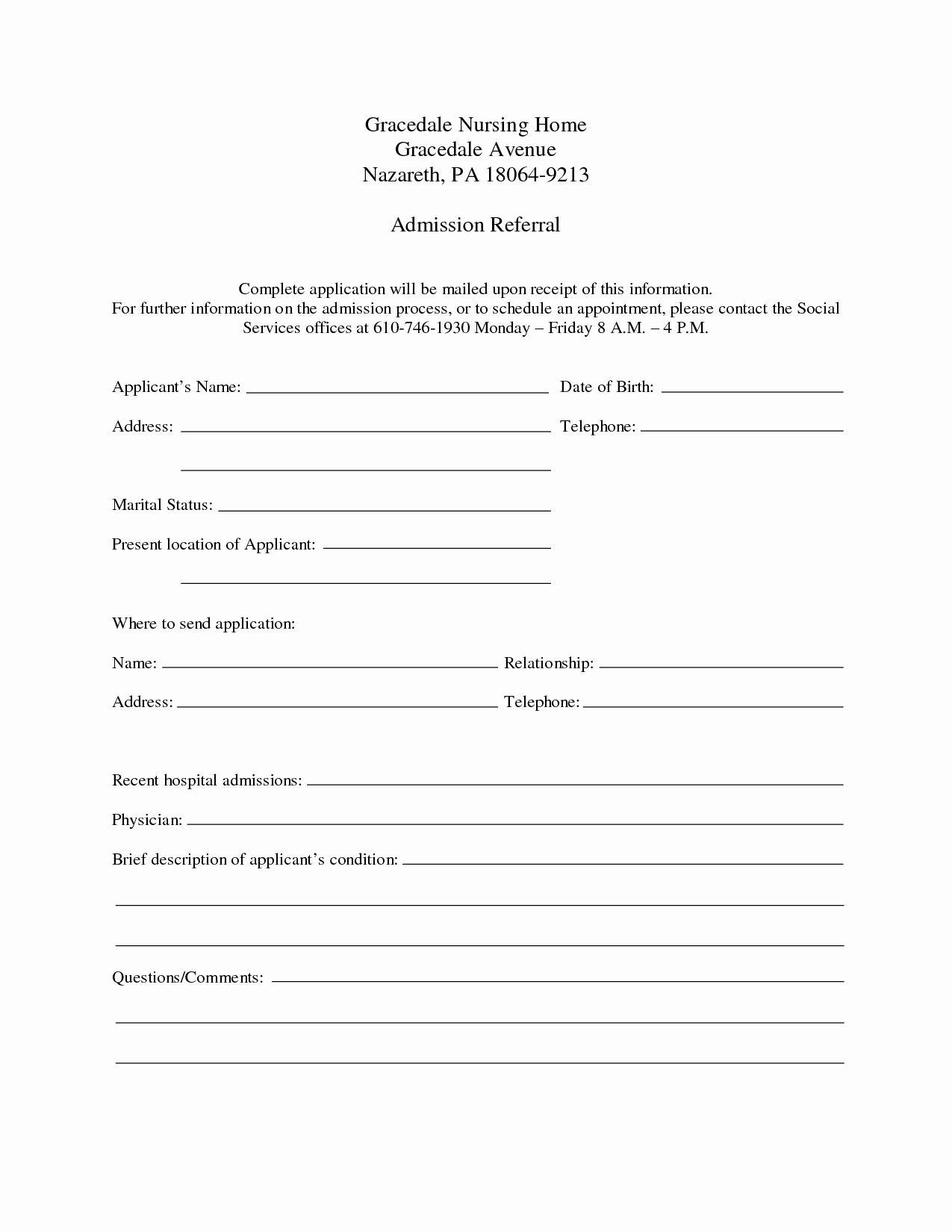30 Emergency Room form Template in 2020 Emergency room