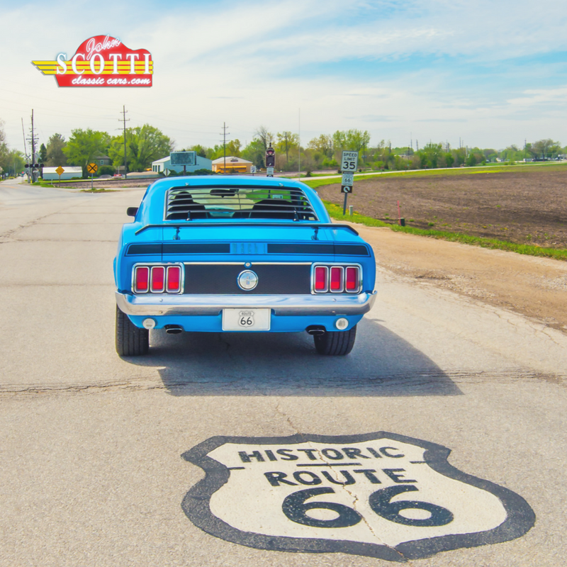 Which classic beauty would you love to drive down Route 66 ...