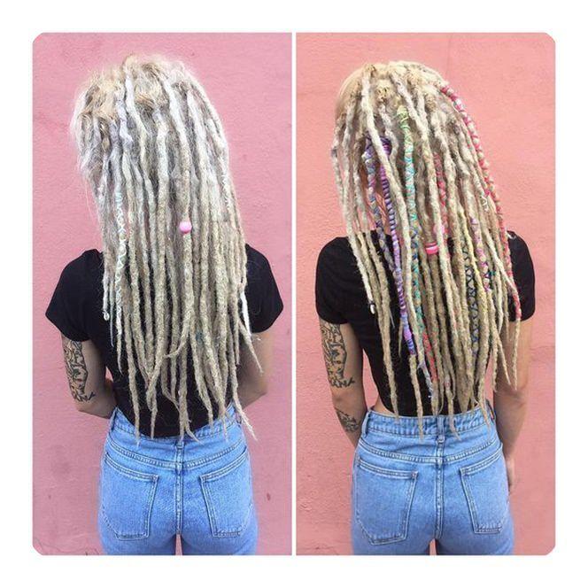 elegant dreadlock hairstyles