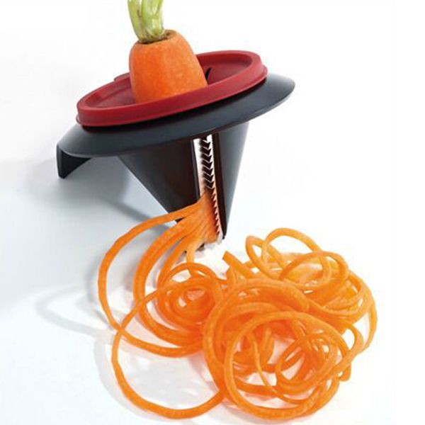 Vegetable Spiral Slicer Peeler Funnel Model Veggetti Peeler Kitchen