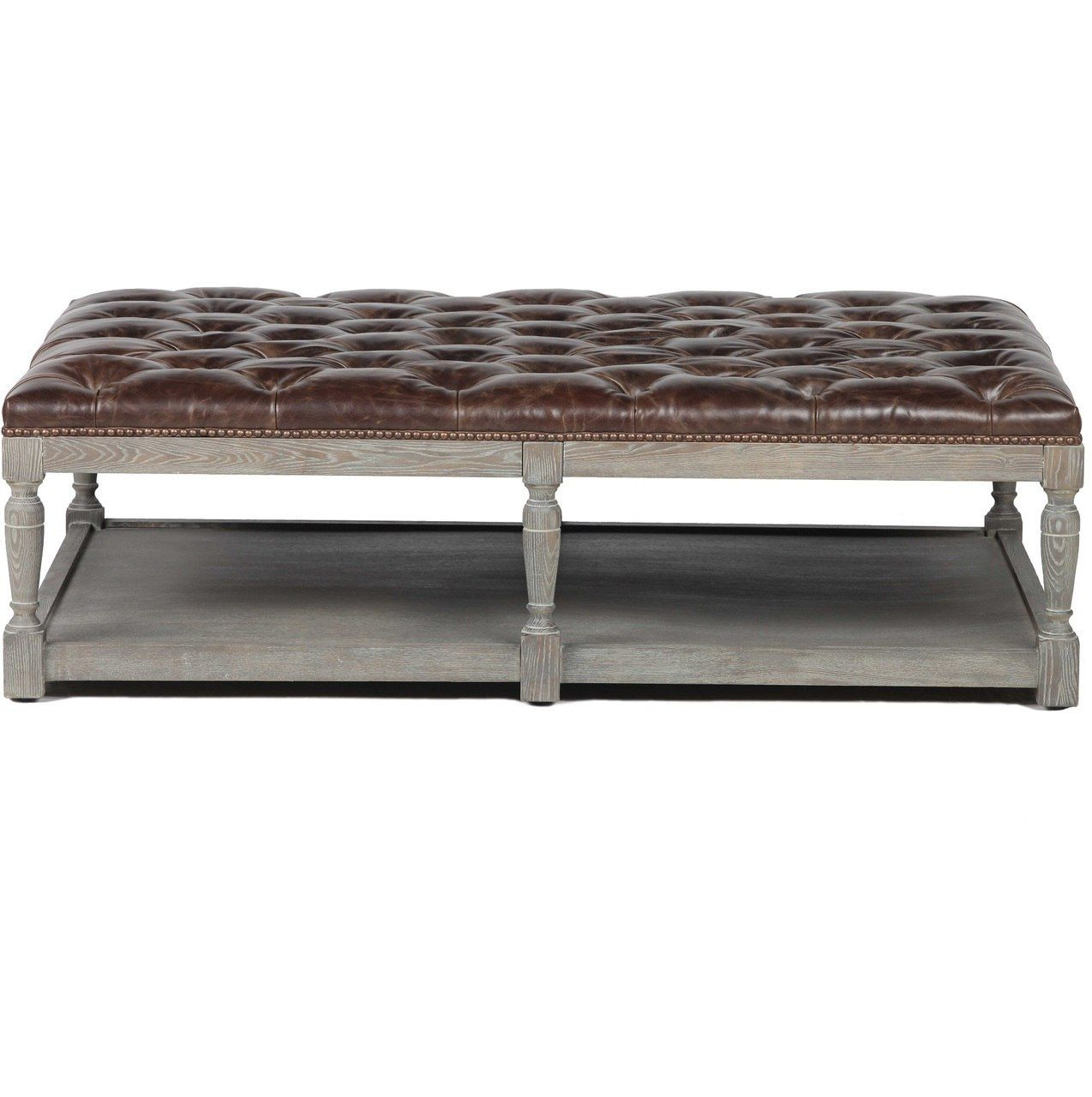 Rose Gold Hammered Coffee Table
