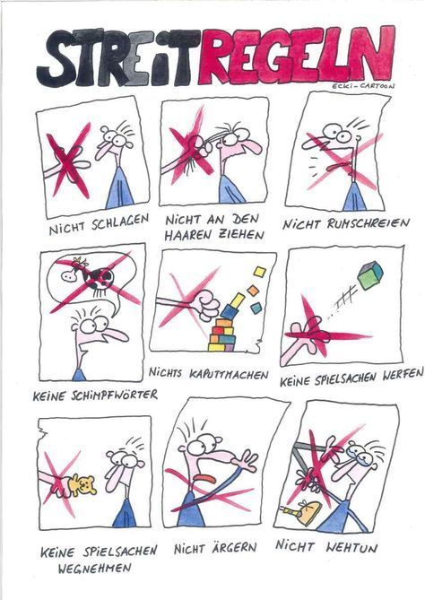 Streitregeln #kitaräume
