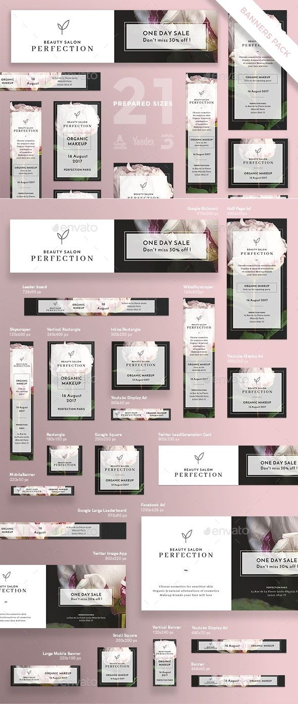 Beauty Salon Banner Pack