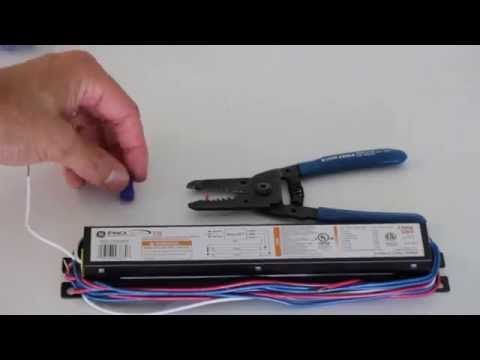 How to   change a ballast for a standard florescent light