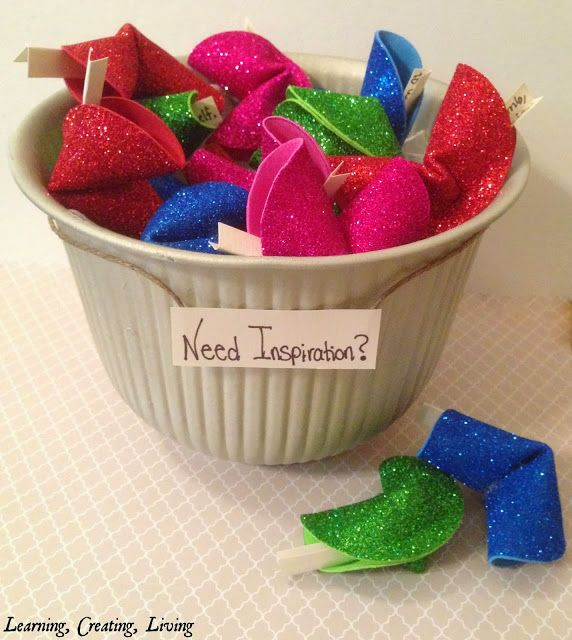 Romantic Things To Do On New Years Eve: Learning, Creating, Living.: Diy Foam Fortune Cookies