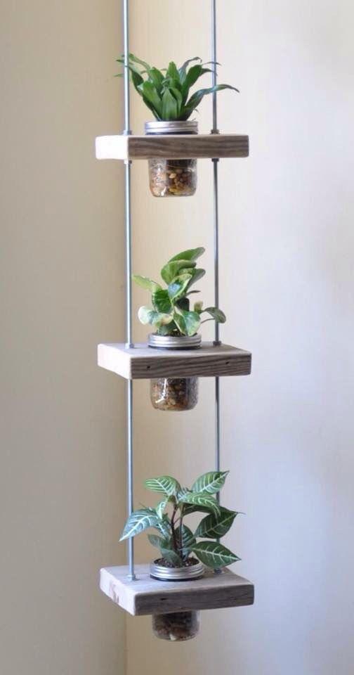 Peque os jardines verticales c mo hacer uno con for Jardin vertical reciclado
