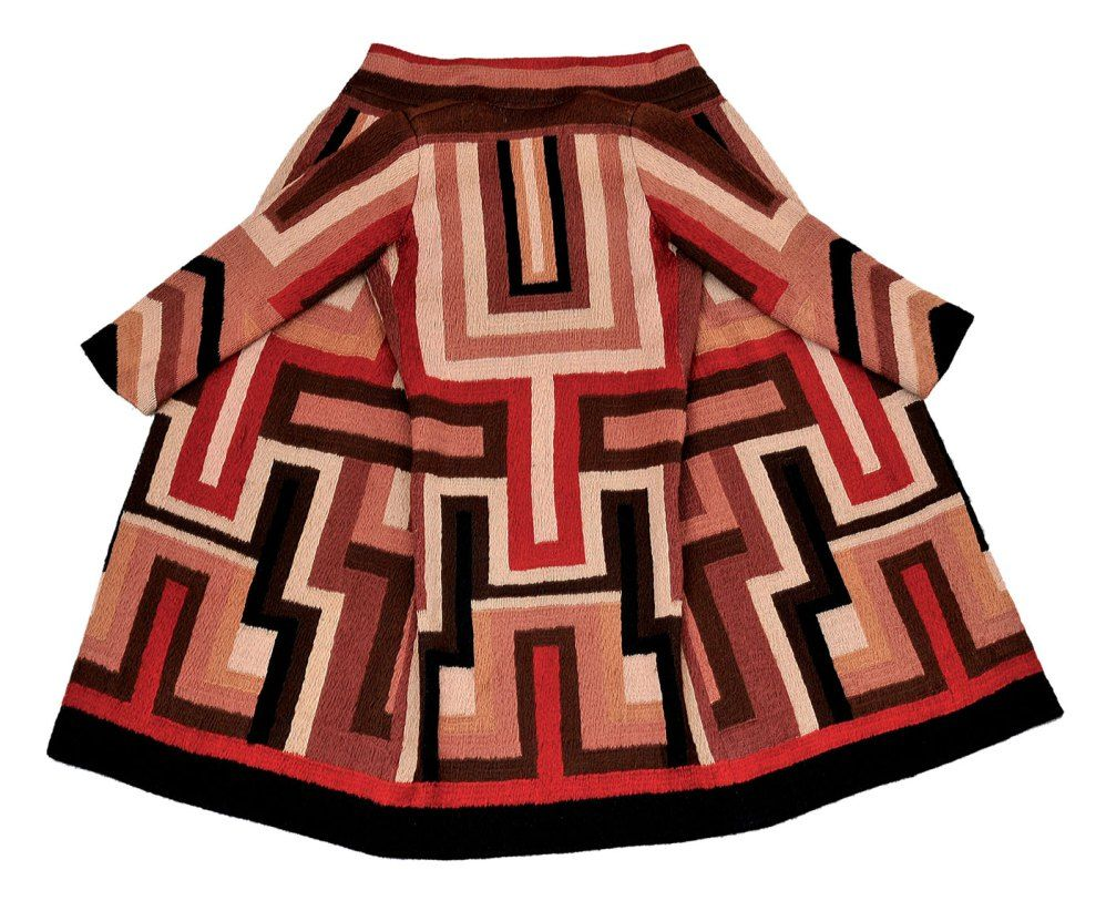 Sonia Delaunay. 'Coat made for Gloria Swanson' 1923-24