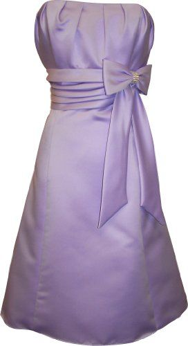 50`s Style Satin Prom Dress With Bow $68.99