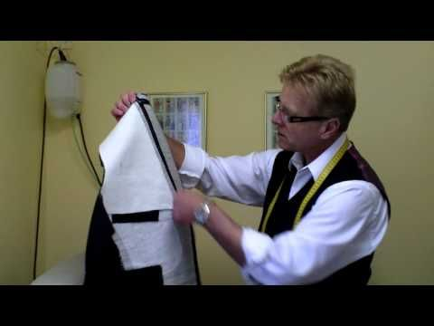 Custom Tailor, Bespoke suits by Master Tailor Rudolf Popradi (chapter 4) - YouTube
