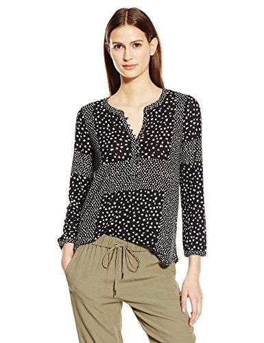 Lucky Brand Women's Placed Ditsy Print Top, Black/Multi, X-Large- #fashion #Apparel find more at lowpricebooks.co - #fashion