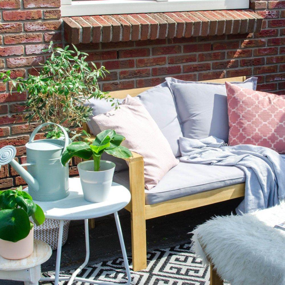 Loungeset Tuin Kwantum.Nazomeren In Eigen Tuin Stylen Met Een Klein Budget Styled By