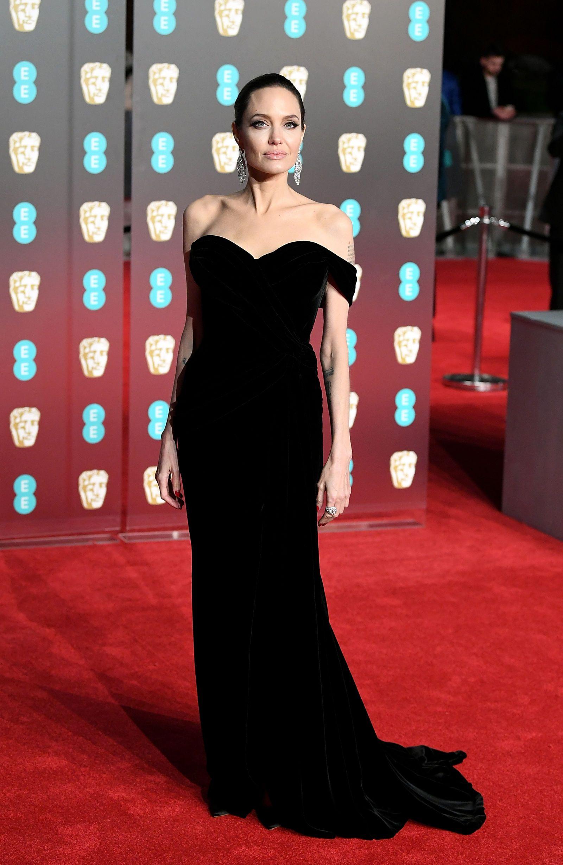 Angelina Jolie from 2018 BAFTA Film Awards: Red Carpet