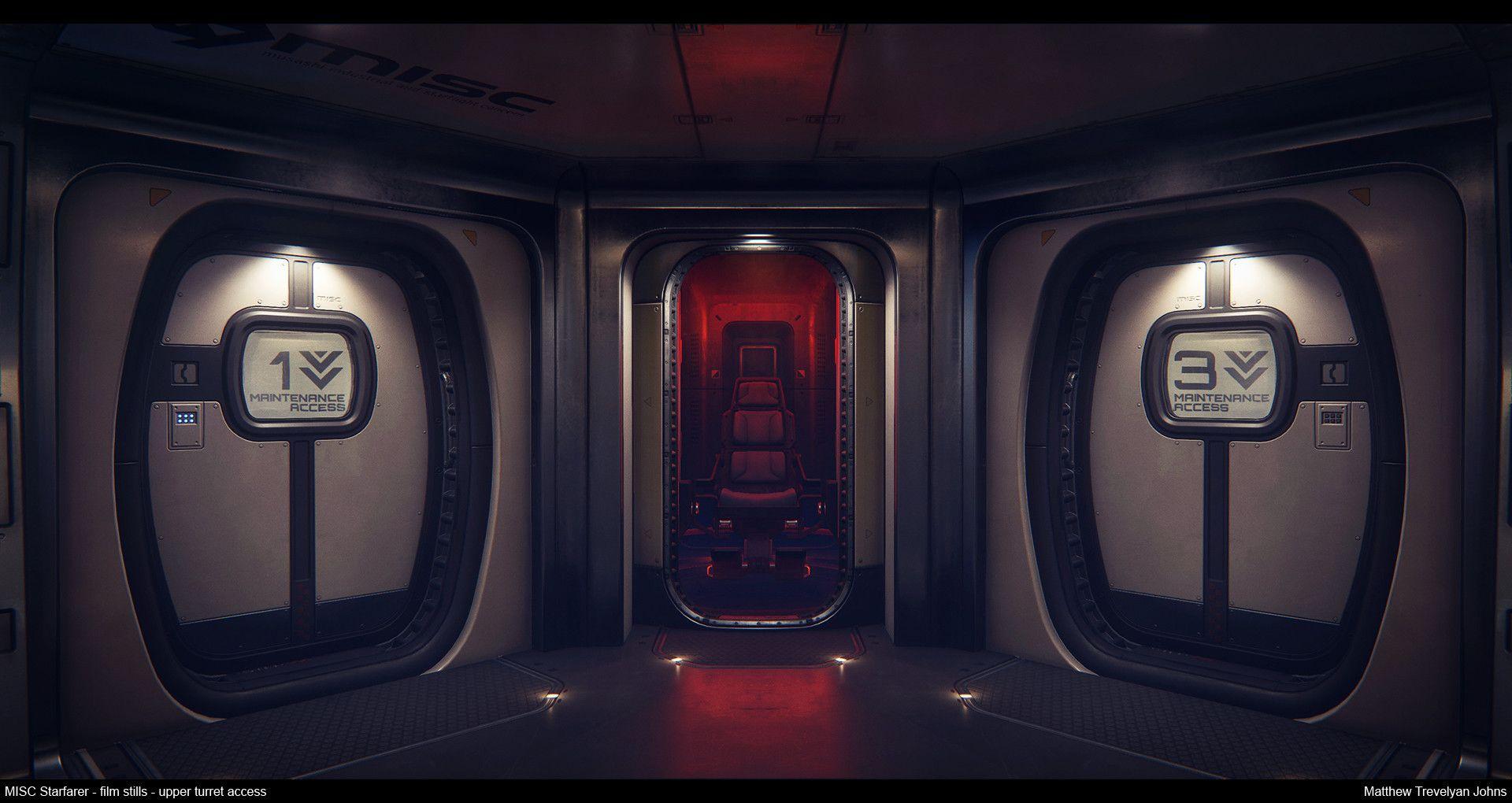 ArtStation - Star Citizen...The Starfarer: Interior focus video, Matthew Trevelyan Johns