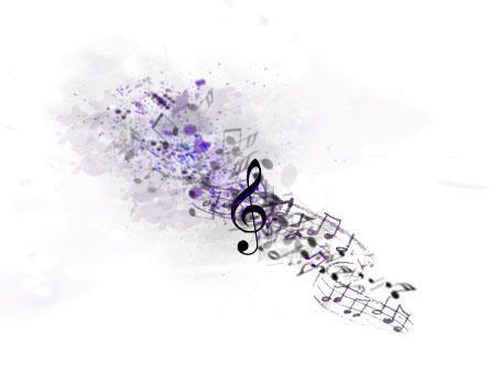 Photo of Splatter music tattoo by samm-xox on DeviantArt