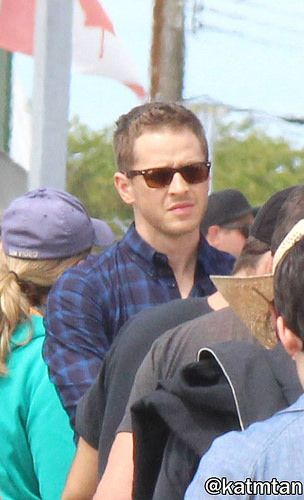 """Josh Dallas - Behind the scenes - 6 * 2 """"A Bitter Draught"""" - 19th July 2016"""